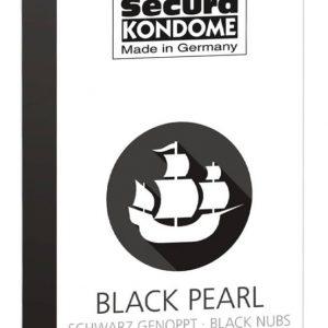 perličkové čierne kondómy