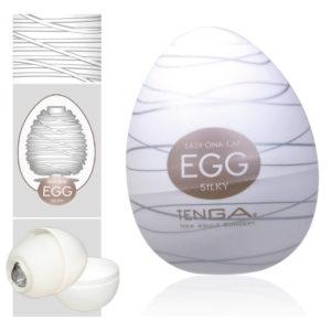 TENGA Egg Silky vajíčko na orgazmus