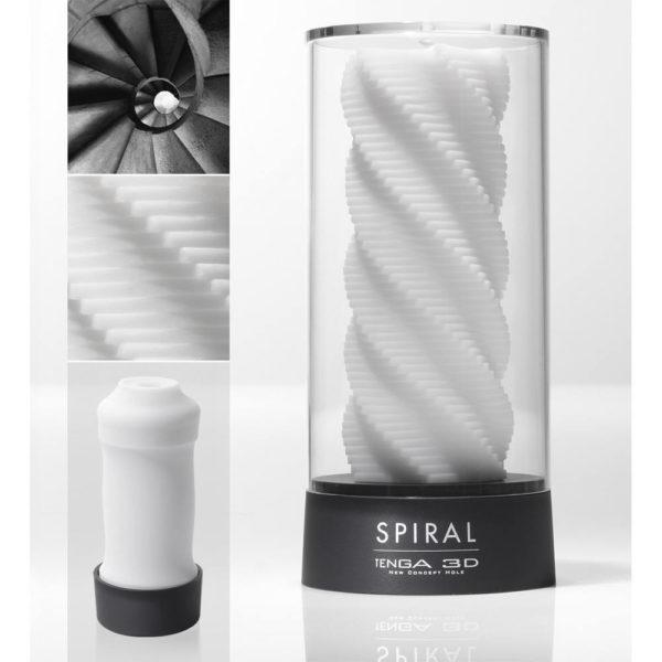 TENGA - masturbátor 3D Špirála