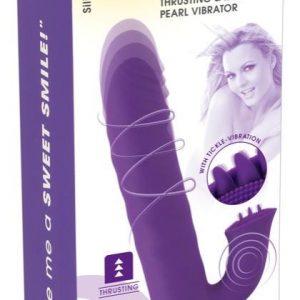 vibrátor so stimulátorom na klitoris
