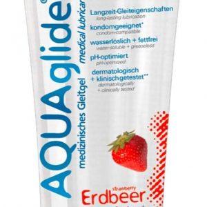 lubrikačný gél na báze vody jahodový