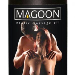 Jahodový masážny olej