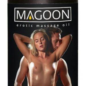 masážny olej s romantickou vôňou