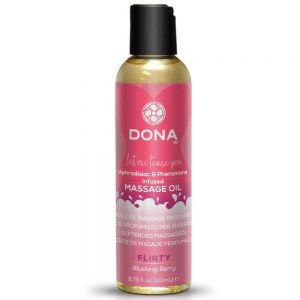 voňavý masážny olej