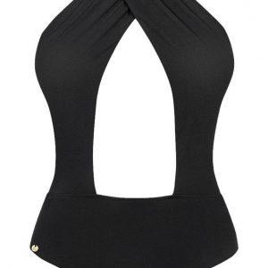 Vyrezávané plavky (čierne)